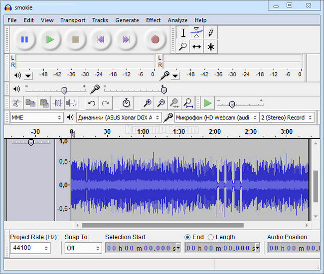 Audacity 2 3 2 Free Download + Portable - Karan PC