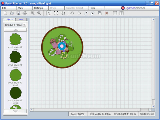 Garden planner 3 5 5 free download zonasoft for Garden planner 3