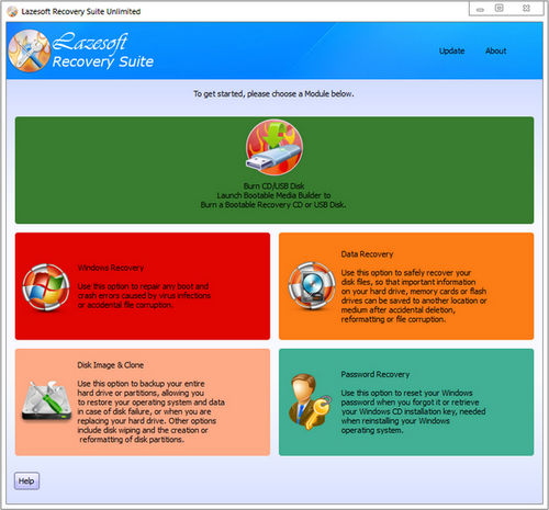Lazesoft Recovery Suite Unlimited Download Full