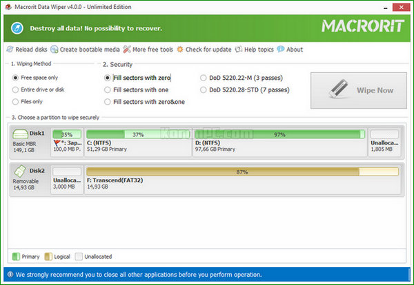 Macrorit Data Wiper Full Version