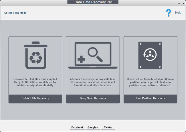 iCare Data Recovery Key Download