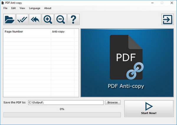 PDF Anti-Copy Free Version