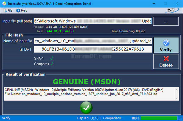 Windows and Office Genuine ISO Verifier Free Download