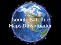 Google Satellite Maps Downloader