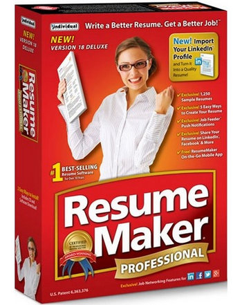 ResumeMaker Professional Deluxe 18  Resume Maker Professional