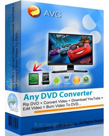 Download Any DVD Converter Professional Full