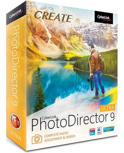 CyberLink PhotoDirector Ultra 9 Full Version