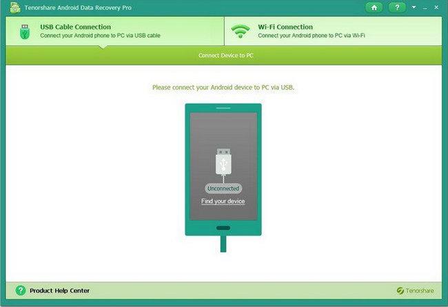 Tenorshare Android Data Recovery Pro