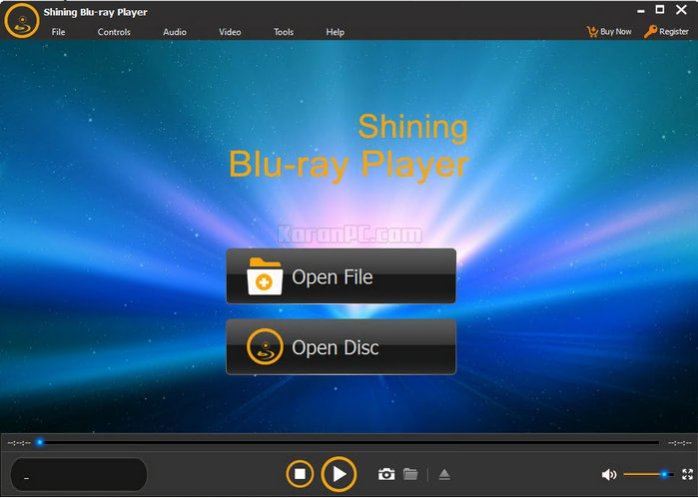 Shining Blu-ray Player full
