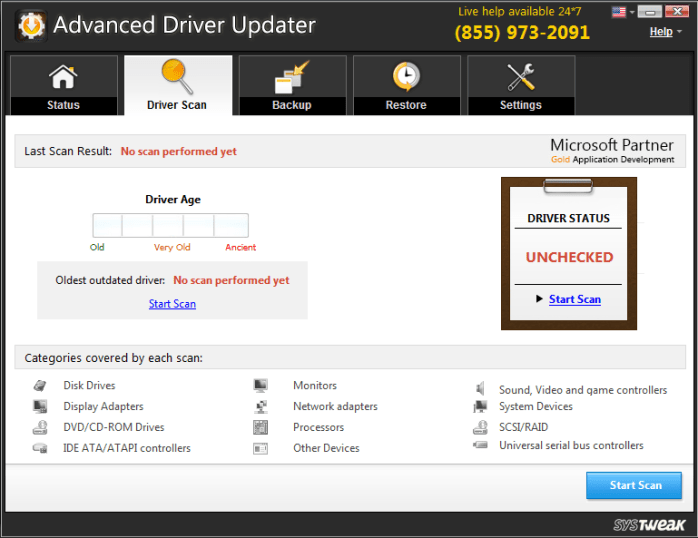 Advanced Driver Updater Full