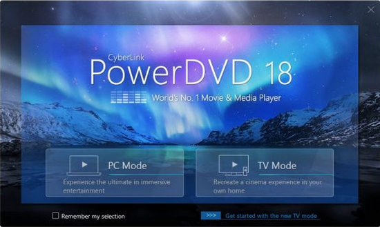 Descarga gratuita de CyberLink PowerDVD 18