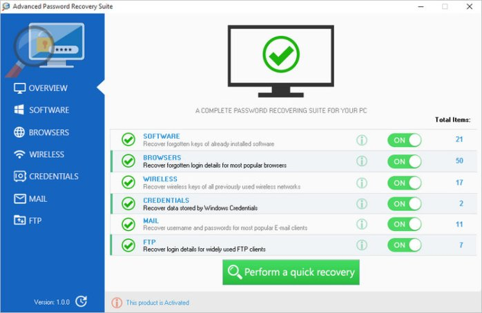 Advanced Password Recovery Suite Full Version