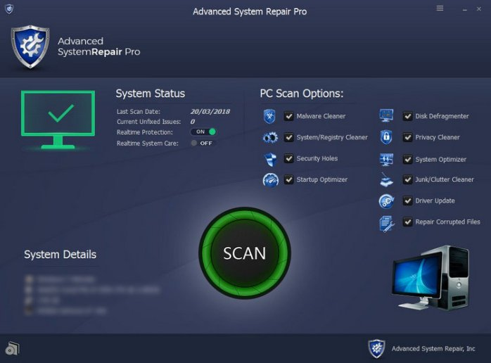 Advanced System Repair Pro Full Version