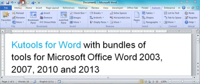 Kutools for Microsoft Word Full Download