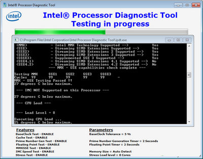 Intel Processor Diagnostic Tool 4.1.0.28 [Latest]