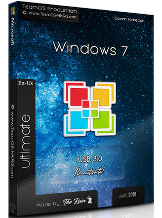 Windows 7 Ultimate Sp1 En-Us ESD May 2018 (USB 3.0)