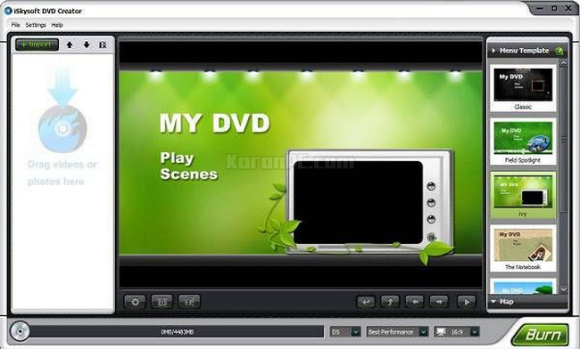 Download iSkysoft DVD Creator Latest Version