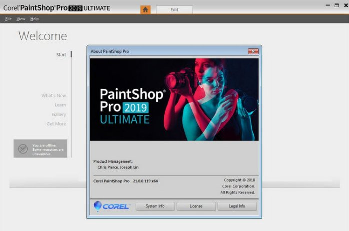 Corel PaintShop Pro 2019 Ultimate 21.1.0.8 Full