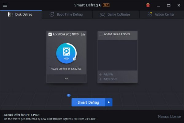 IObit Smart Defrag Full Download