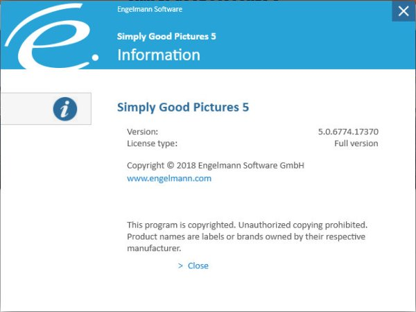 Simply Good Pictures License