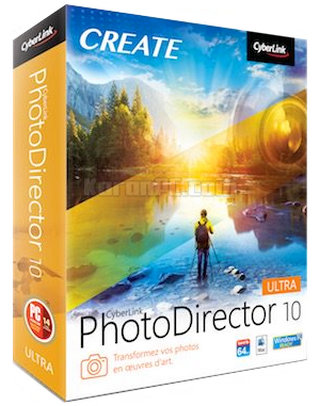 CyberLink PhotoDirector Ultra 10 Free Download