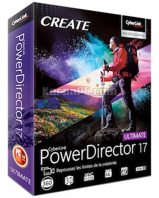 CyberLink PowerDirector Ultimate 17 Free Download