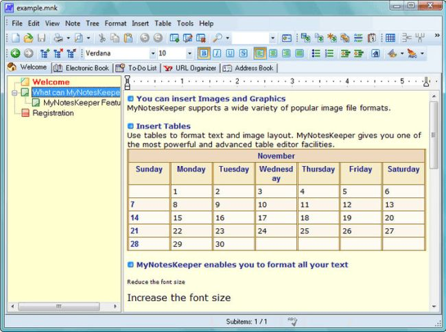 My Notes Keeper Portable Download