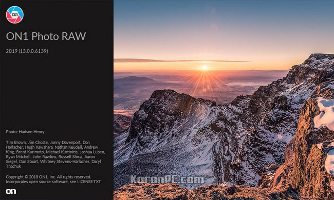 ON1 Photo RAW 2019 5 v13 5 1 7136 Free Download - Karan PC