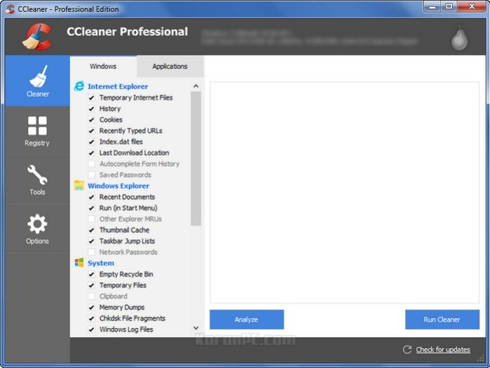 CCleaner Professional Key Download