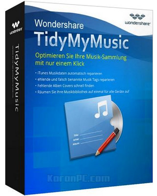 Wondershare TidyMyMusic Full Download