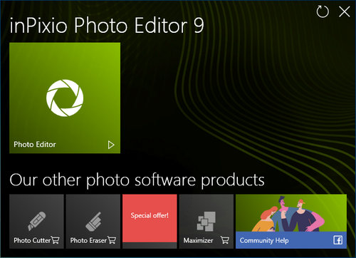 InPixio Photo Editor 9.1.7026.29921 + Portable