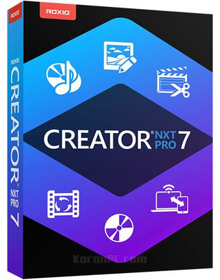 Roxio Creator NXT Pro 7 Free Download + Content