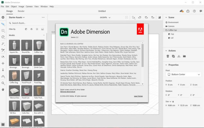 Adobe Dimension CC 2019 Full