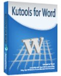 Kutools for Word 9.0.0 Free Download