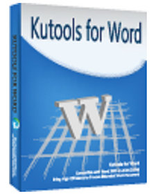 Download Kutools for Word Full