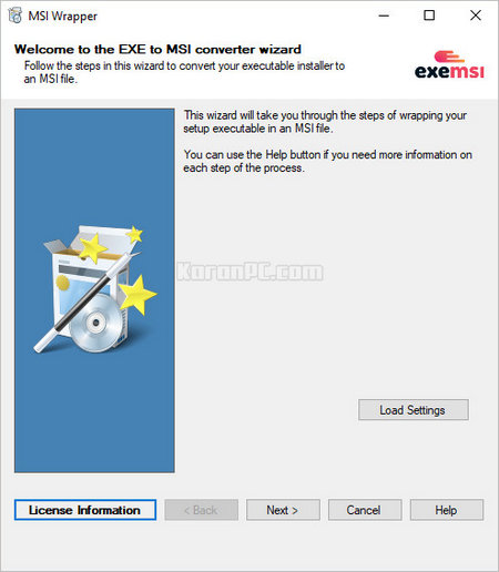 Download MSI Wrapper Pro Full