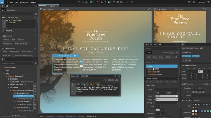 Download Pinegrow Web Editor Pro Full