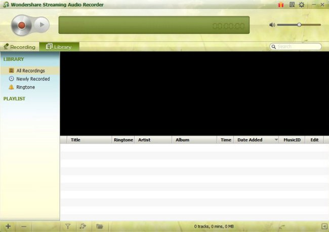 Wondershare Streaming Audio Recorder Full Version