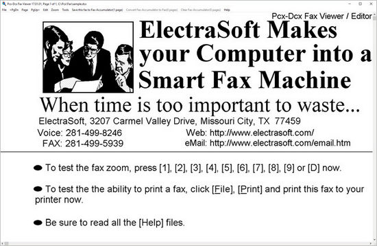 Download ElectraSoft Pcx-Dcx Fax Viewer Full