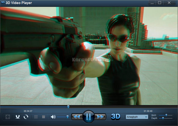 3D Video Player Free