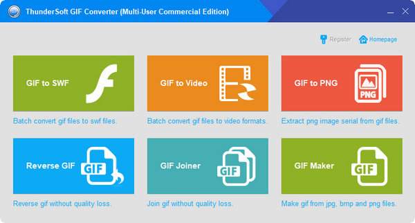 Download ThunderSoft GIF Converter Full Version