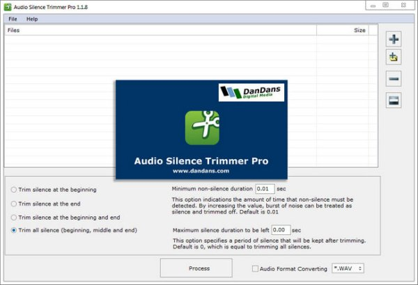 Download Audio Silence Trimmer Pro Full