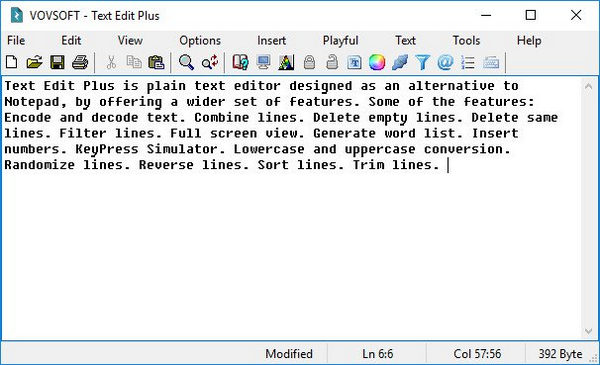 VovSoft Text Edit Plus Full