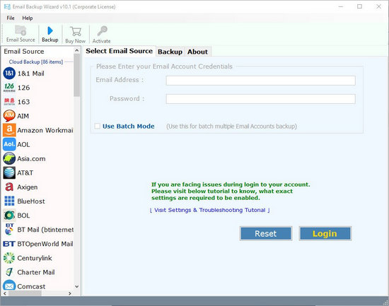 Email Backup Wizard Full