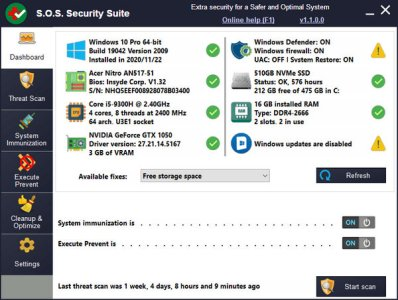 S.O.S Security Suite Free Download