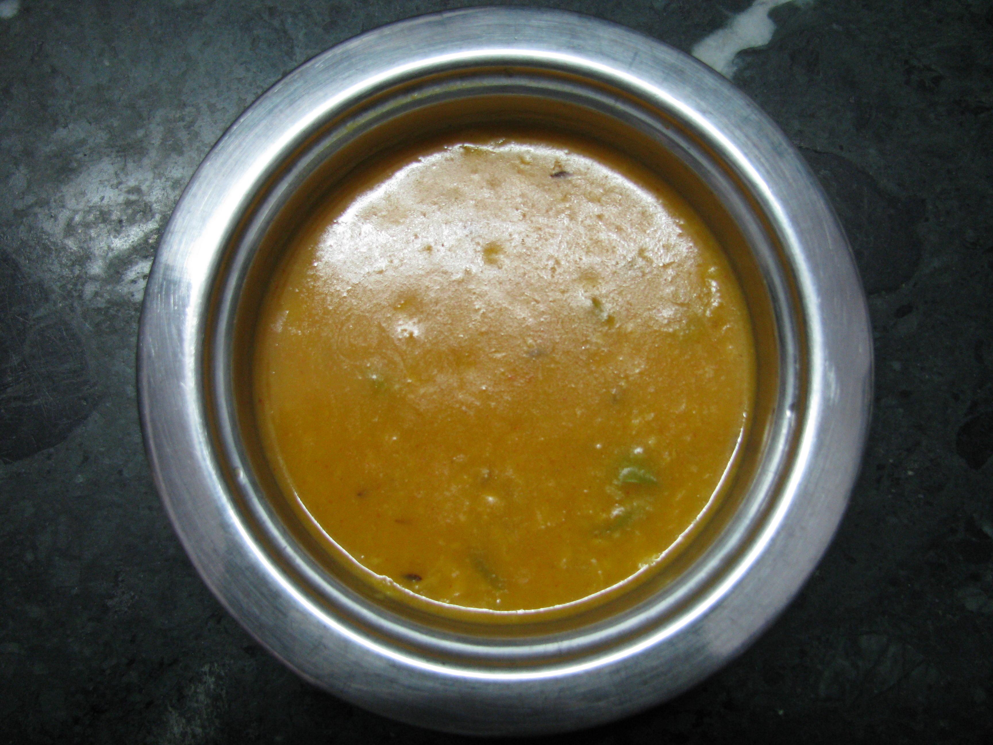 Prepadred Dish of Chana & Washed Moong Dal