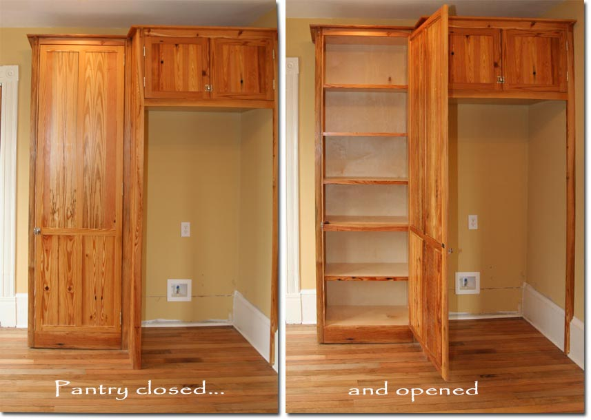 Pantry Cabinet: Large Pantry Cabinet With Custom Pantry
