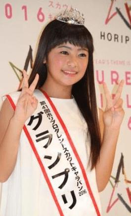 ホリプロスカウトキャラバン 柳田咲良 12歳 最年少