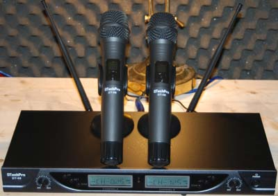 DTechpPro DT-58 is the best wireless microphone system.