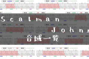 Scatman John歌手音域一覧トップ
